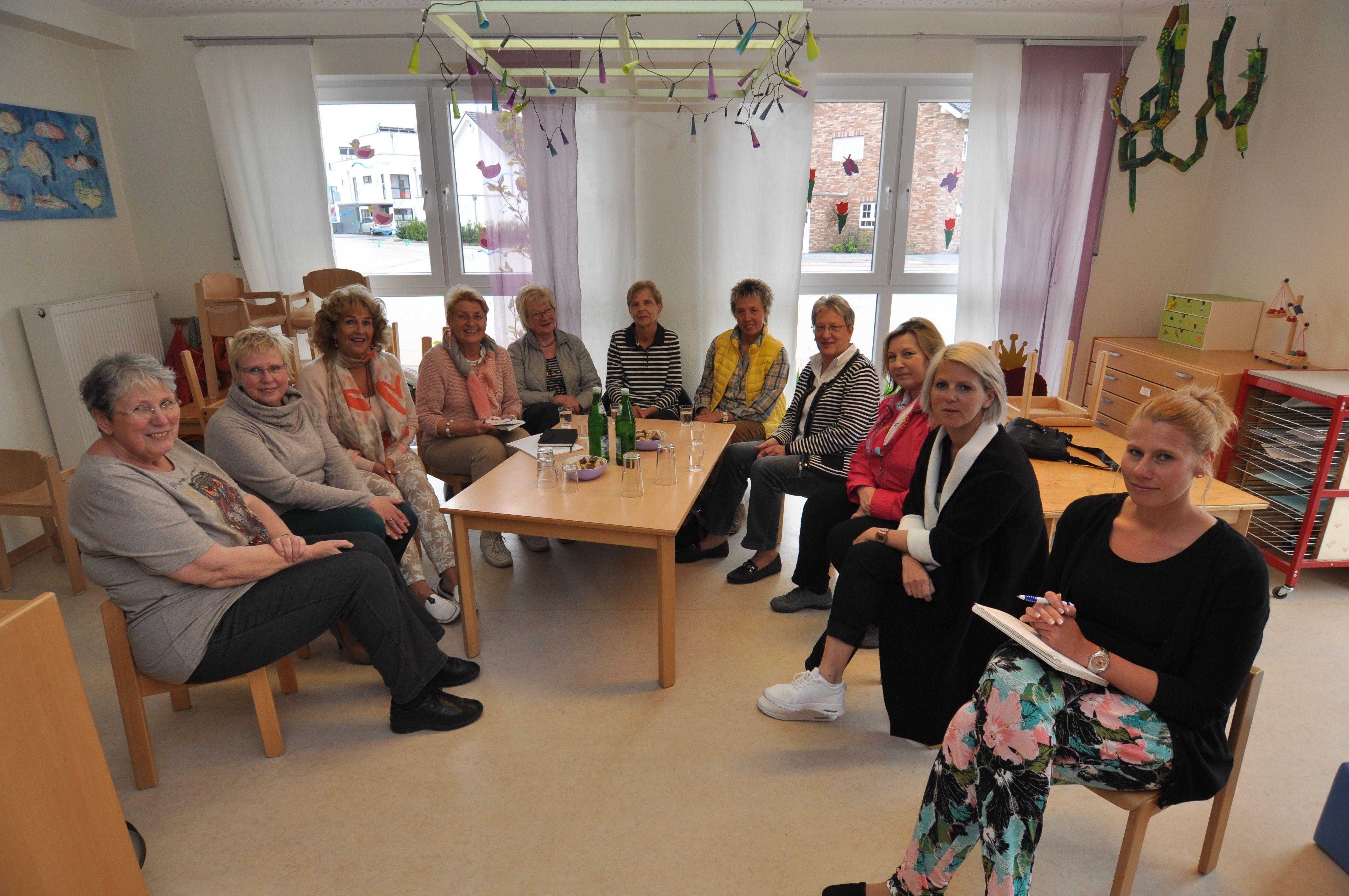 Vorlesegruppe Kindergarten Stadtfeld